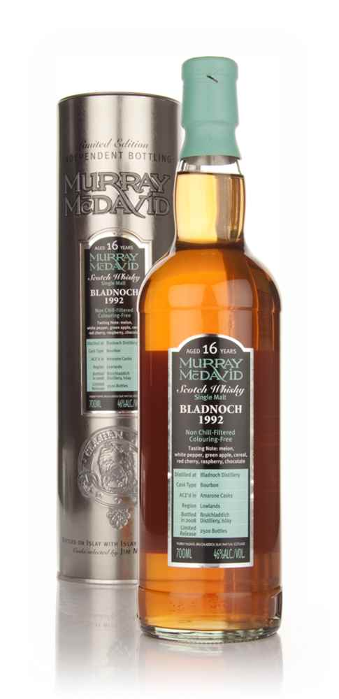 Bladnoch 16 Year Old 1992 (Murray McDavid)