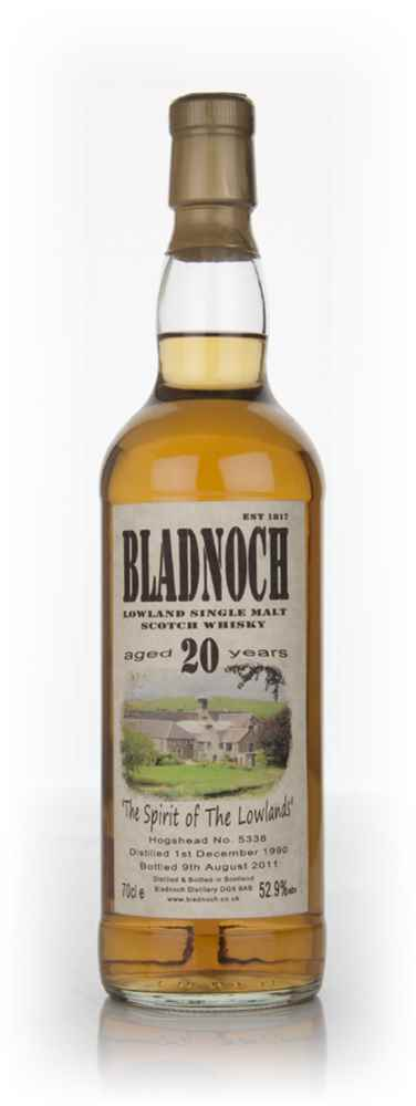 Bladnoch 20 Year Old 1990 (cask 5338)