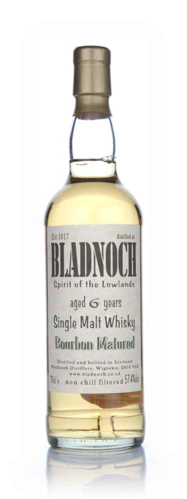 Bladnoch 6 Year Old Bourbon Matured