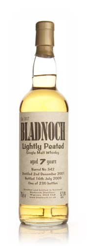 Bladnoch 7 Year Old Lightly Peated