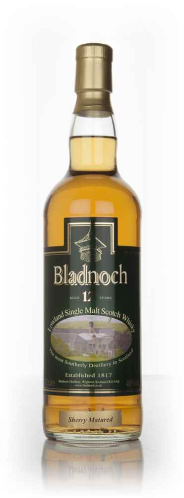 Bladnoch 12 Year Old Sherry Cask Matured - Distillery Label