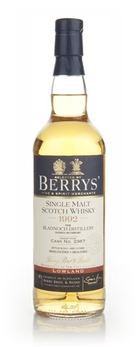 Bladnoch 19 Year Old 1992 - Berry Bros & Rudd