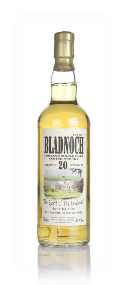 Bladnoch 20 Year Old 1990 (cask 5739) - The Spirit of The Lowlands