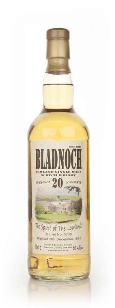 Bladnoch 20 Year Old - Distillery Label