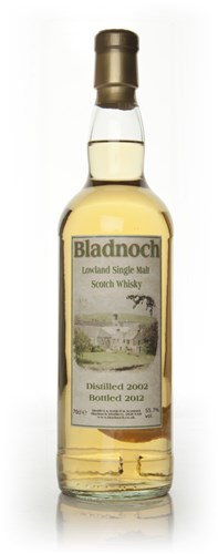 Bladnoch 9 Year old 2002 - Distillery Label (55.70%)
