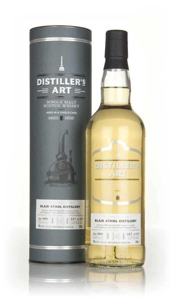 Blair Athol 14 Year Old 2003 - Distiller's Art (Langside)