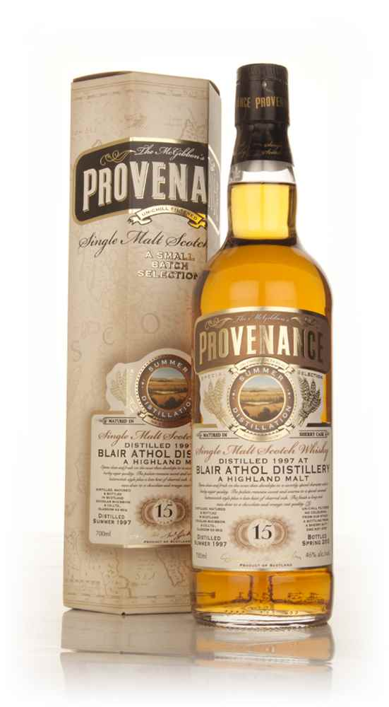 Blair Athol 15 Year Old 1997 (cask 9757) - Provenance (Douglas Laing)