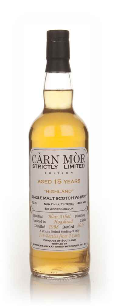 Blair Athol 15 Year Old 1998 - Strictly Limited (Càrn Mòr)