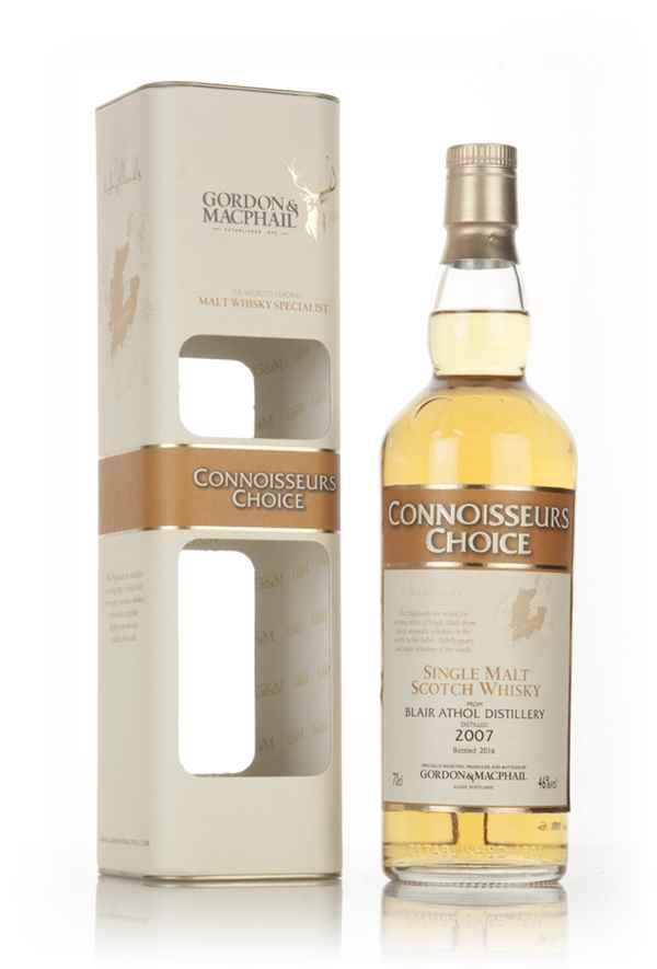Blair Athol 2007 (bottled 2016) - Connoisseurs Choice (Gordon & MacPhail)