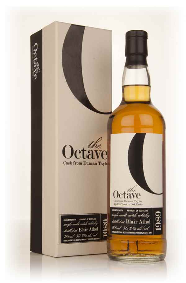 Blair Athol 24 Year Old 1989 (cask 325304) - The Octave (Duncan Taylor)