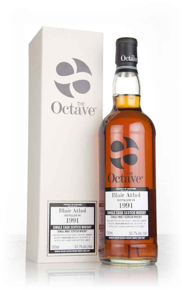 Blair Athol 25 Year Old 1991 (cask 328659) - The Octave (Duncan Taylor)