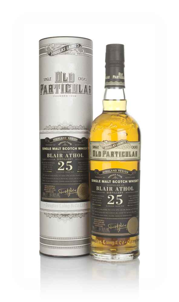 Blair Athol 25 Year Old 1995 (cask 13943) - Old Particular (Douglas Laing)