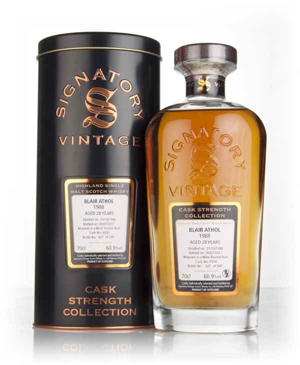 Blair Athol 28 Year Old 1988 (cask 6930) - Cask Strength Collection (Signatory)