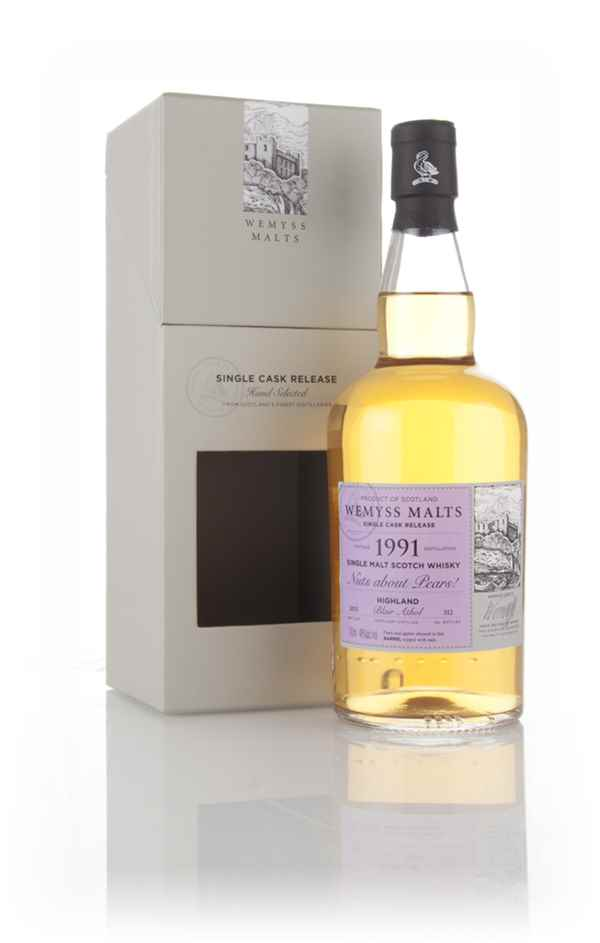 Nuts about Pears! 1991 (bottled 2015) - Wemyss Malts (Blair Athol)