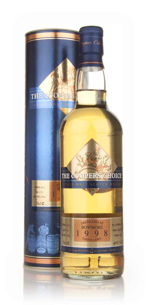 Bowmore 1998 - The Coopers Choice (The Vintage Malt Whisky Co.)
