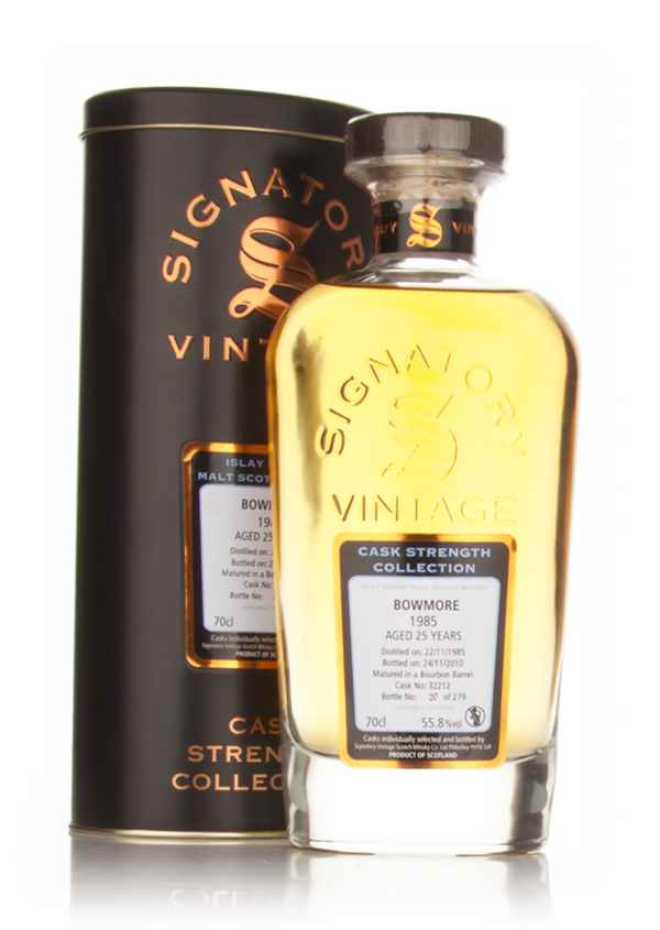 Bowmore 25 Year Old 1985 - Cask Strength Collection (Signatory)