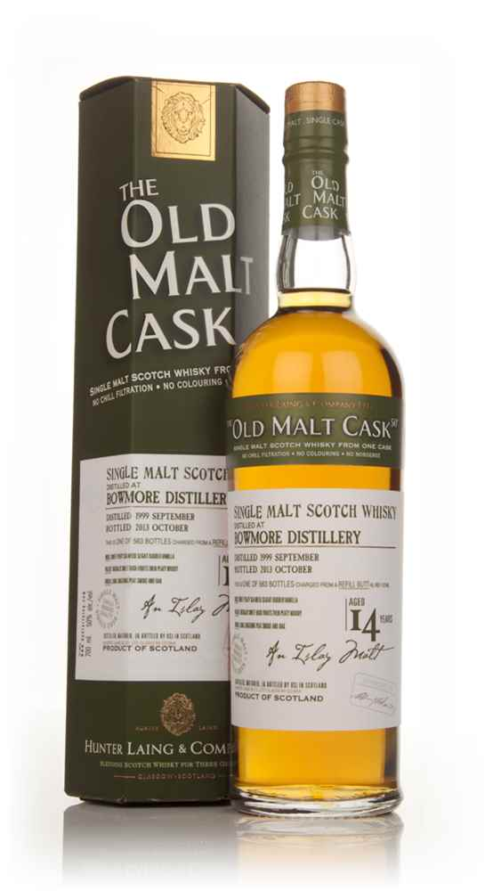 Bowmore 14 Year Old 1999 (cask 10146) - Old Malt Cask (Hunter Laing)
