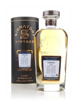 Bowmore 16 Year Old 1997 (casks 1914+1915) - Cask Strength Collection (Signatory)