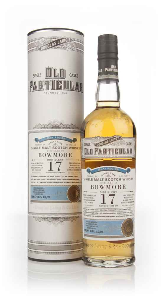 Bowmore 17 Year Old 1996 (cask 10125) - Old Particular (Douglas Laing)