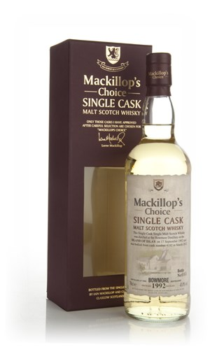 Bowmore 19 Year Old 1992 (cask 4192) - Mackillop's Choice
