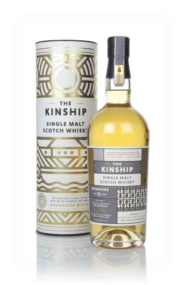 Bowmore 21 Year Old - The Kinship (Hunter Laing)