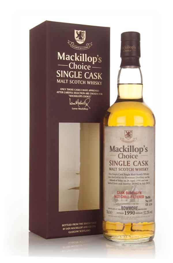 Bowmore 23 Year Old 1990 (cask 185082) - Mackillop's Choice
