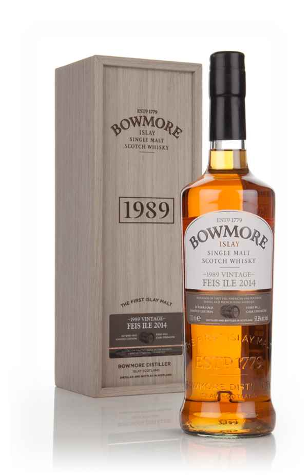 Bowmore 24 Year Old 1989 - Feis Ile 2014