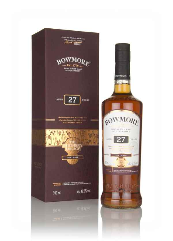 Bowmore 27 Year Old - The Vintner's Trilogy