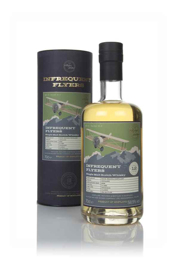 Royal Brackla 12 Year Old 2006 (cask 311985) - Infrequent Flyers (Alistair Walker)