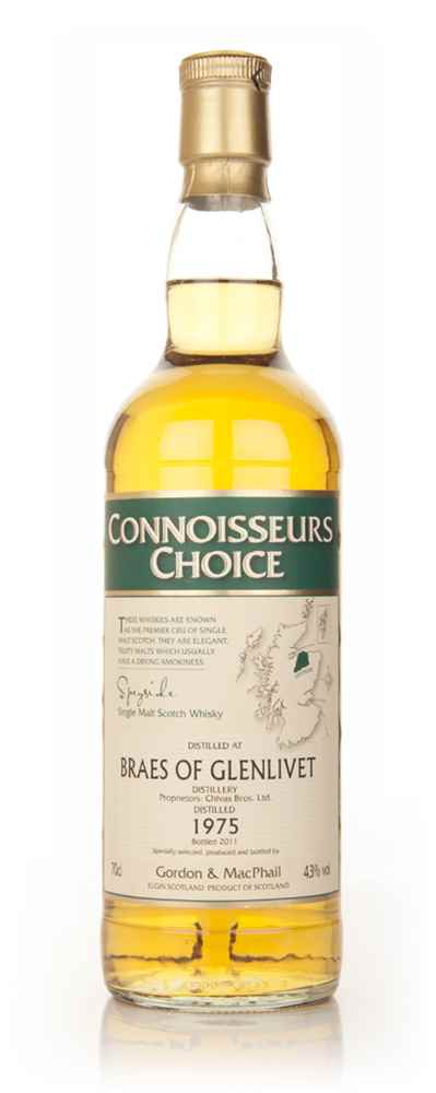 Braes of Glenlivet 1975 - Connoisseurs Choice (Gordon and MacPhail)