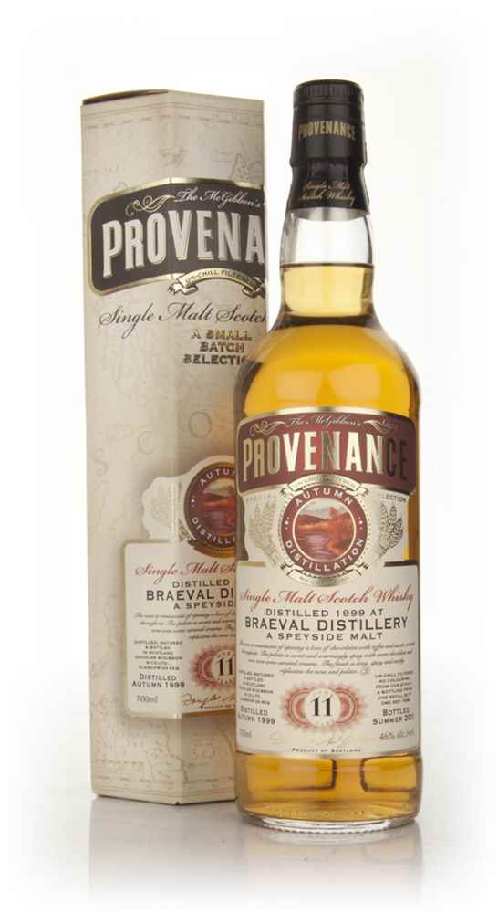 Braeval 11 Year Old 1999 - Provenance (Douglas Laing)