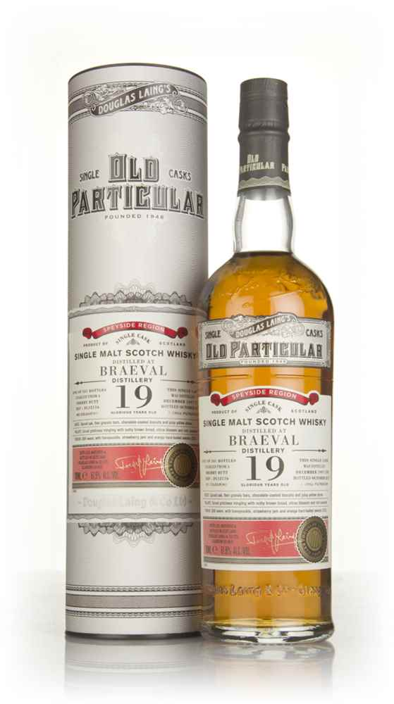 Braeval 19 Year Old 1997 (cask 12116) - Old Particular (Douglas Laing)