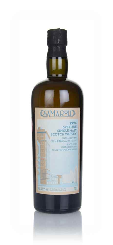 Braeval 1994 (bottled 2018) (cask 165700) - Samaroli