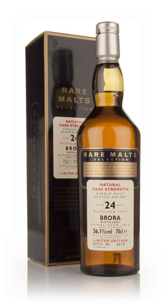 Brora 24 Year Old 1977 - Rare Malts