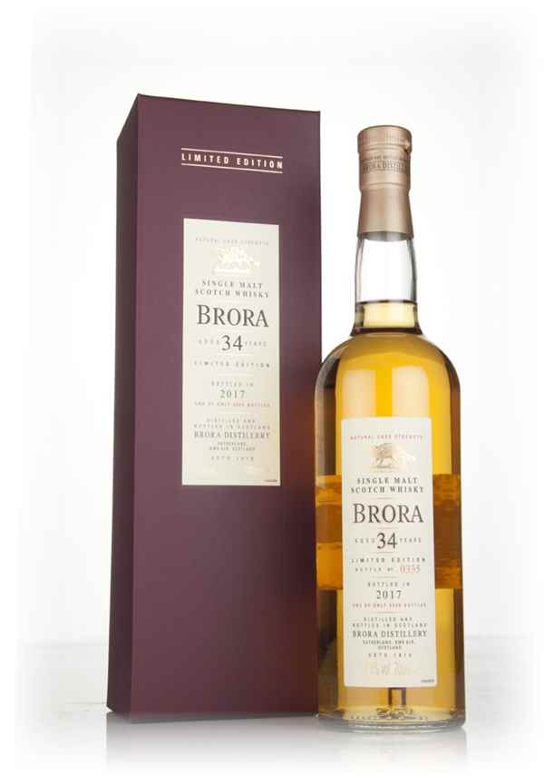 Brora 34 Year Old 1982 (Special Release 2017)