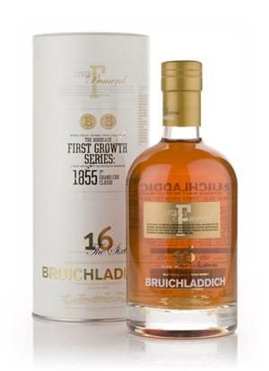Bruichladdich First Growth Cuvée F: Pomerol (Chateau Lafleur) 16 Year Old