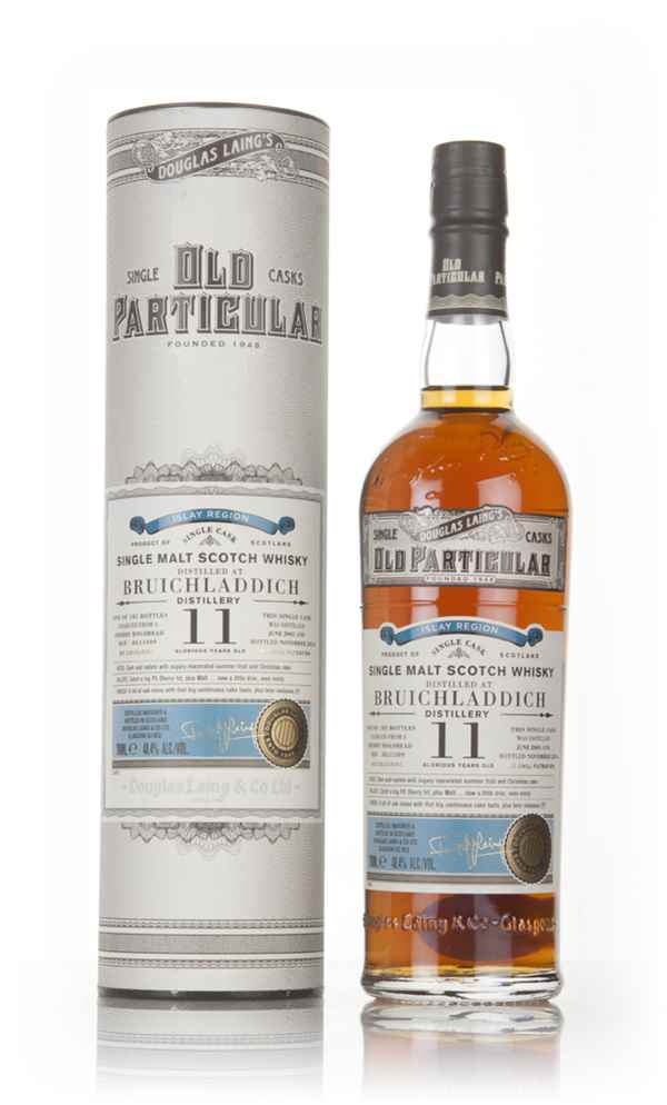 Bruichladdich 11 Year Old 2005 (cask 11509) - Old Particular (Douglas Laing)