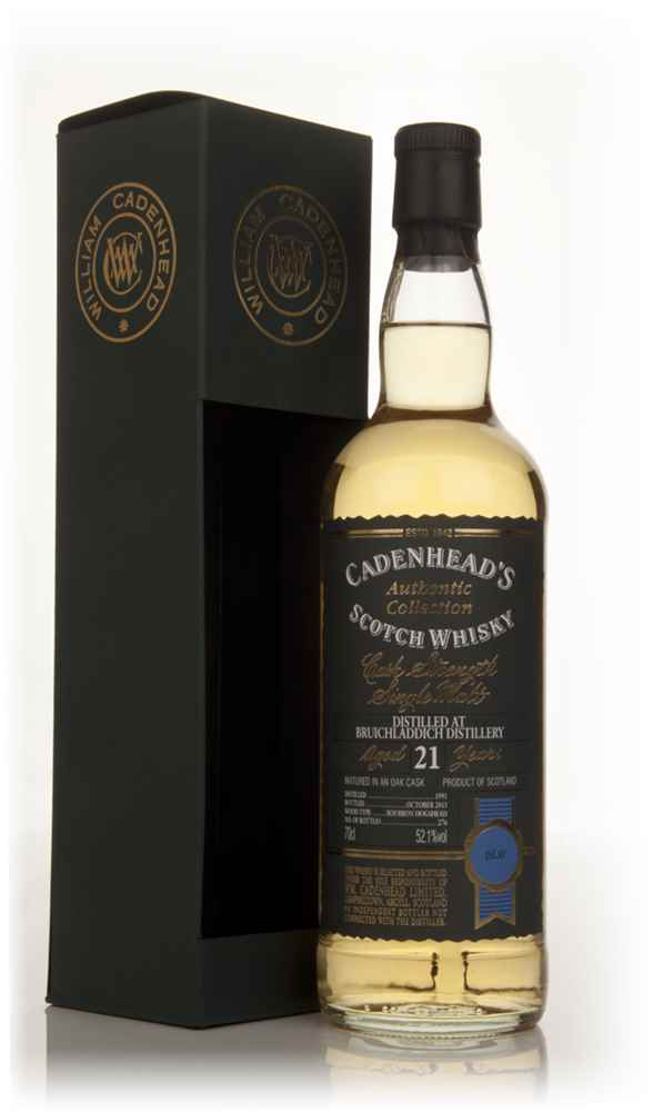 Bruichladdich 21 Year Old 1991 - Authentic Collection (WM Cadenhead)