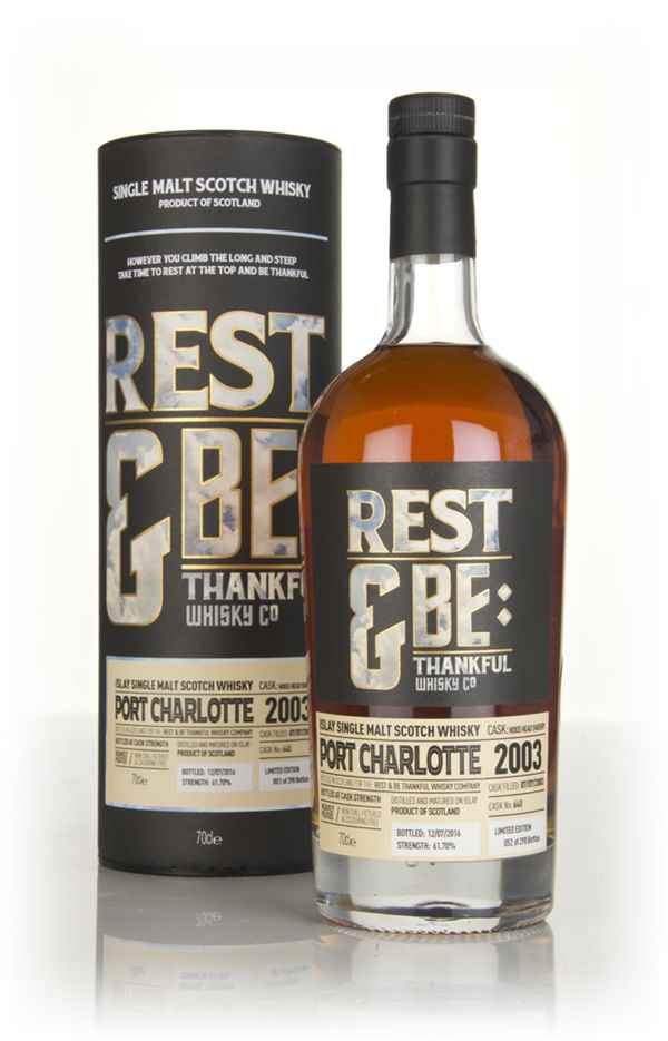 Port Charlotte 13 Year Old 2003 (cask 640) (Rest & Be Thankful)