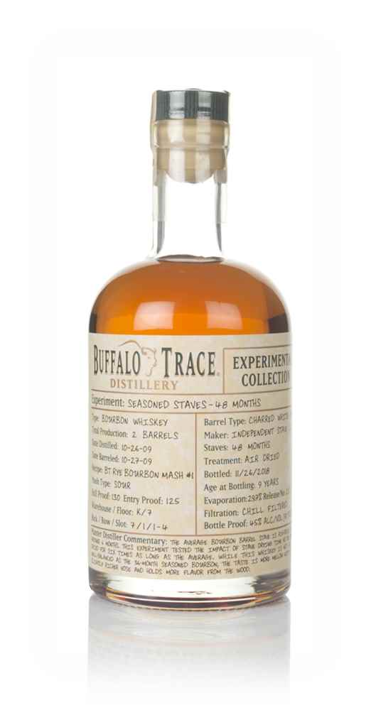 Buffalo Trace 48 Month Seasoned Staves - Experimental Collection