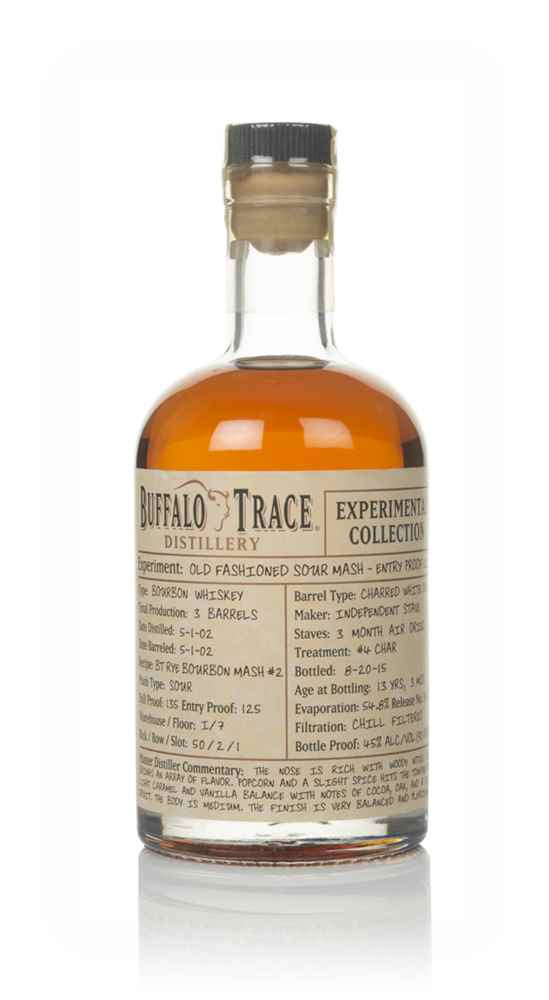 Buffalo Trace Old Fashioned Sour Mash - Experimental Collection