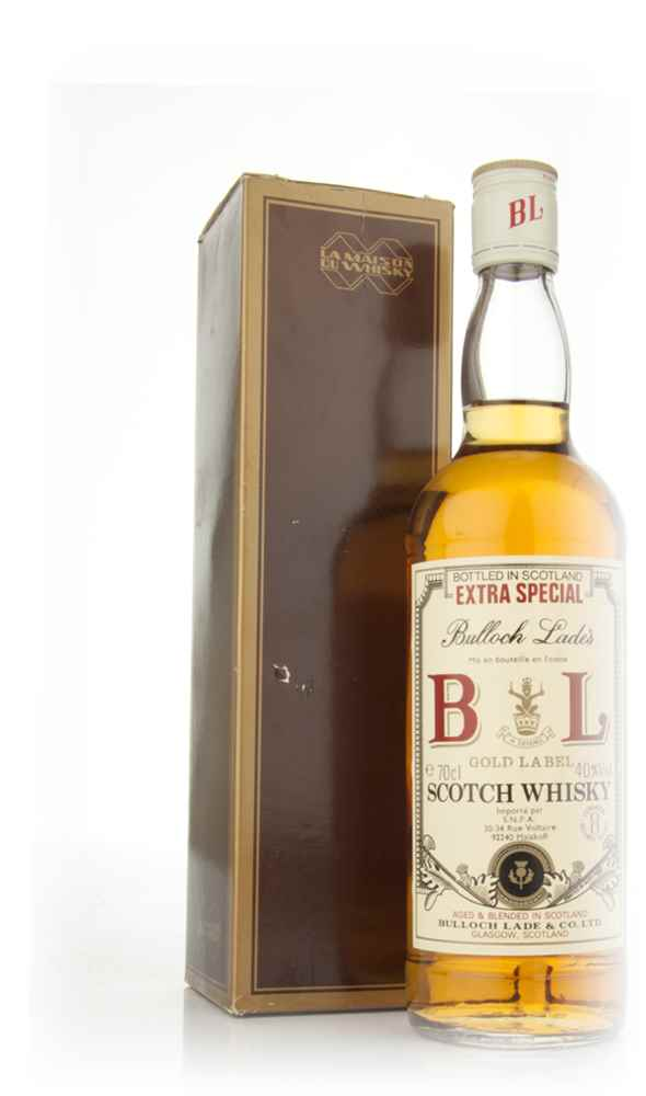 Bulloch Lade's Extra Special Gold Label Scotch Whisky - 1970s