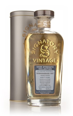 Bunnahabhain 11 Year Old 1997 - Cask Strength Collection (Signatory)