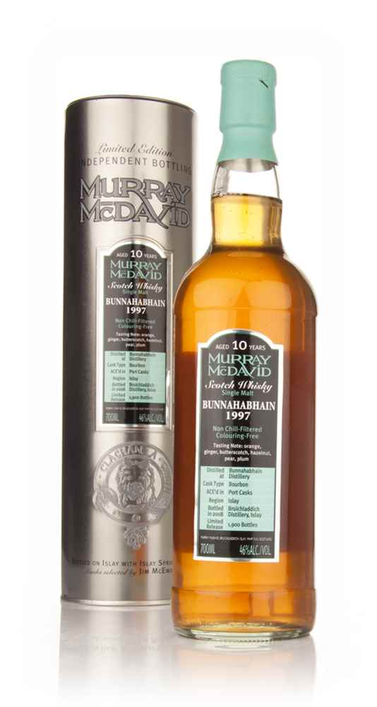 Bunnahabhain 10 Year Old 1997 (Murray McDavid)