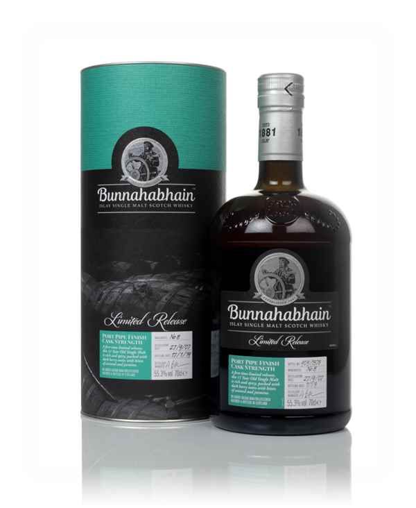 Bunnahabhain 11 Year Old 2007 Port Pipe Finish