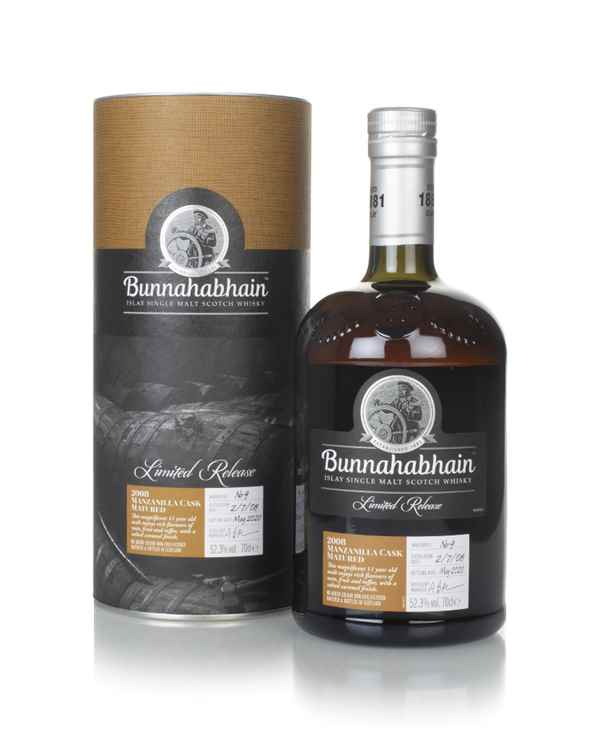 Bunnahabhain 11 Year Old 2008 Manzanilla Cask Matured