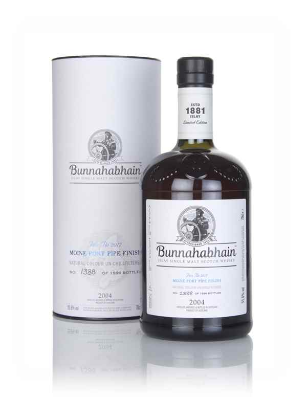 Bunnahabhain 2004 Moine Port Pipe Finish - Fèis Ìle 2017