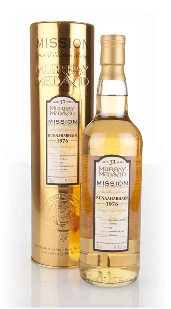 Bunnahabhain 31 Year Old 1976 - Mission Gold (Murray McDavid)