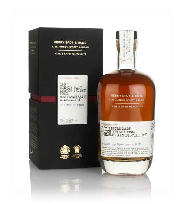 Bunnahabhain 31 Year Old 1987 (cask 2463) - Exceptional Casks (Berry Bros. & Rudd)