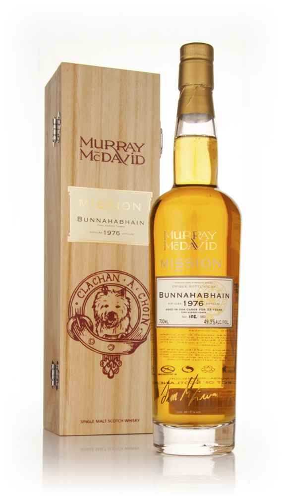 Bunnahabhain 33 Year Old 1976 - Mission (Murray McDavid)